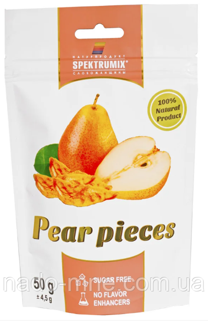 Ломтики грушевые сушеные Pear Pieces, 50 г