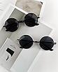 Солнцезащитные очки круглые стеклянные черные унисекс гарри поттера очки лепса джона ленона, фото 3