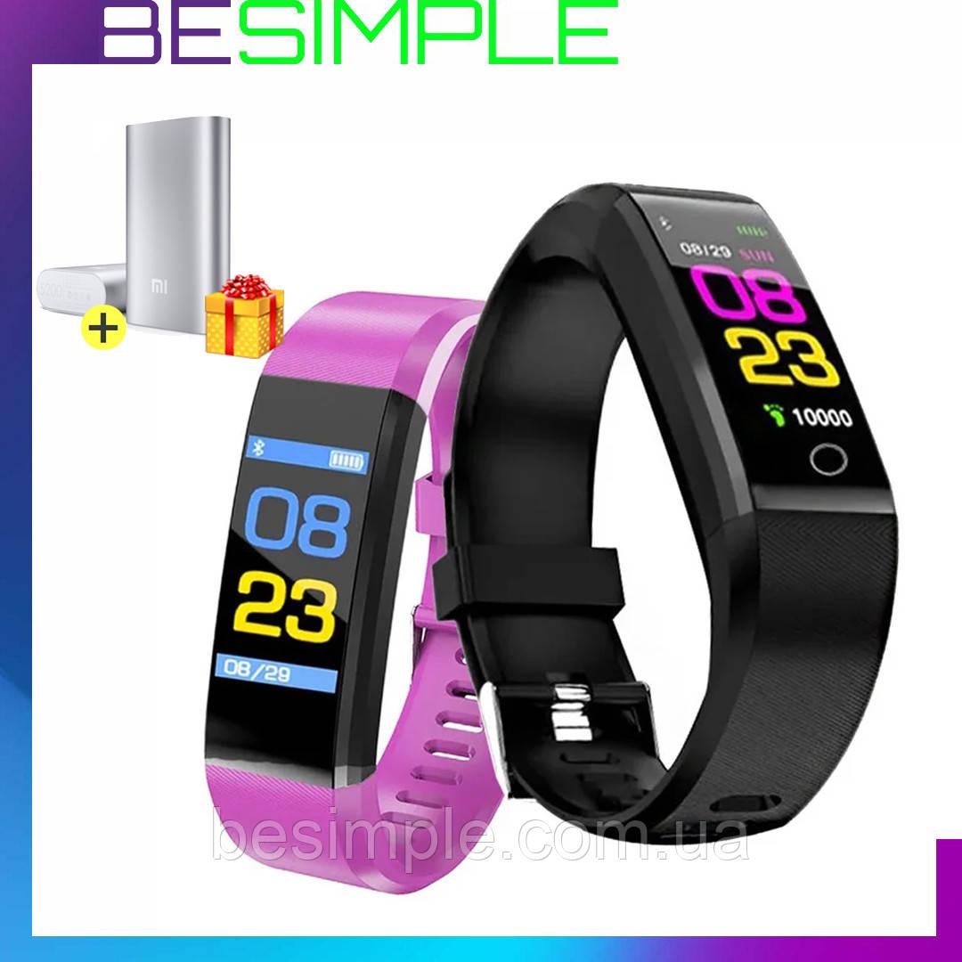 Фитнес браслет BANGWEI / Смарт браслет + Power-bank в Подарок