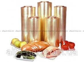Пищевая стретч - пленка ПВХ  450 мм *300 м
