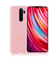 Чехол Molan Cano full для Xiaomi Redmi Note 8 Pro розовый (ксиоми редми нот 8 про)