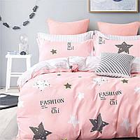 Подростковое постельное белье Сатин Твил 433 Полуторный Космический принт (1005793)