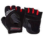 Рукавички для фітнесу PowerPlay 2222 Чорні L