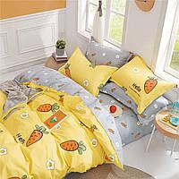 Подростковое постельное белье Сатин Твил 450 Полуторный С растительным принтом (1005806)
