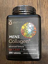 Коллаген для мужчин 1, 2, 3 типа, YouTheory, Men's Collagen 290 tabs