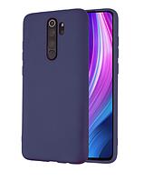 Чехол Molan Cano full для Xiaomi Redmi Note 8 Pro темно-синий (ксиоми редми нот 8 про)