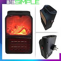 Электрический камин обогреватель с пультом Flame Heater 500W