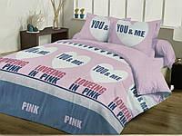 Высококачественное постельное бельё Евро размера.