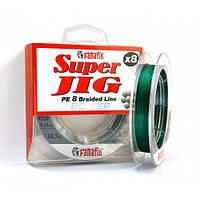 ШНУР плетеный FANATIK Super Jig PE X8 100 m (#0,8) 0.14 mm 8.8 kg GREEN