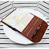 Хороший подарок деловому мужчине. Ежедневник в обложке из натуральной кожи с лазерной гравировкой - Фото
