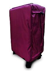 Чохол для валізи Coverbag Нейлон Ultra L бордо