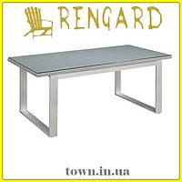 Обеденный стекляный стол OSLO RGLT 1006-1 Rengard. Стол для улицы,для террасы,для дома,для кухни