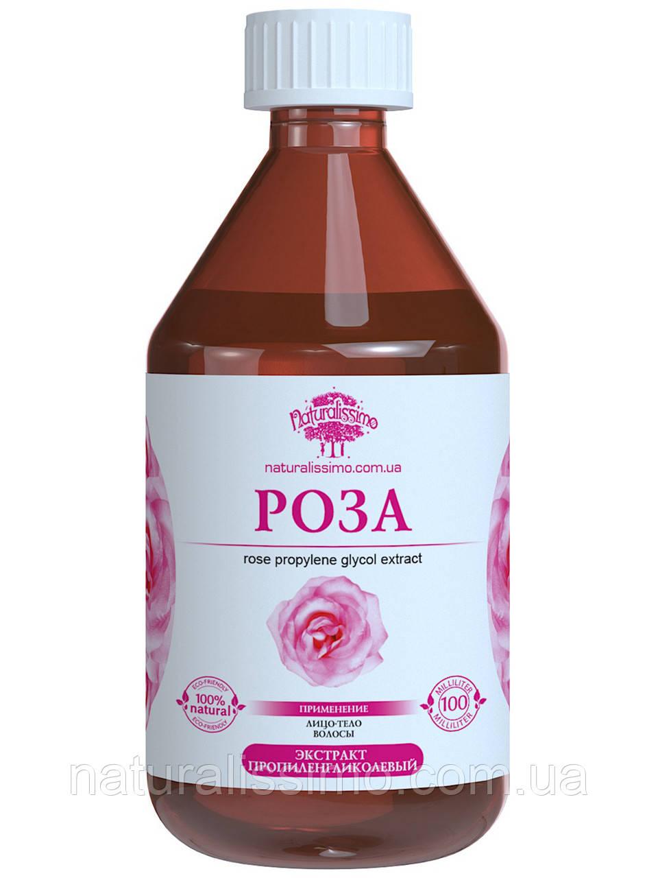 Пропиленгликолевый экстракт чайной розы, 1000 мл