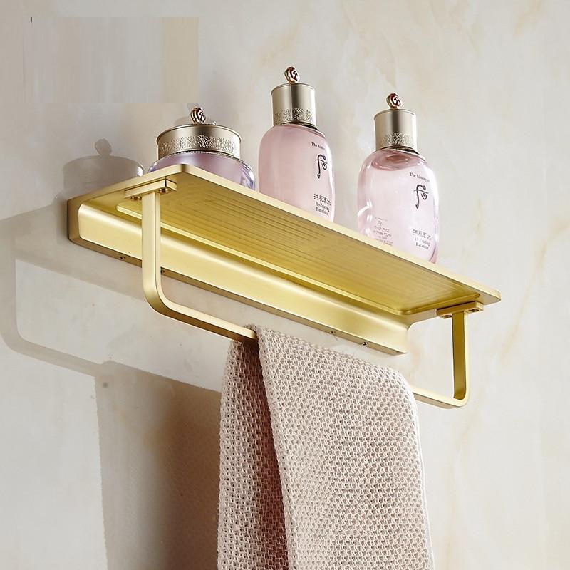 Полка с вешалкой для полотенец в ванную комнату. Модель RD-1613