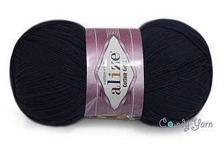 Alize Cotton Gold, Темно-синий №58