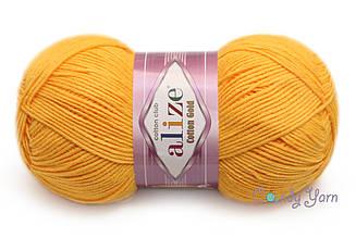 Alize Cotton Gold, Темно-желтый №216