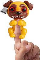 Интерактивная щенок Гримлингс WowWee Fingerlings Grimlings - Pug Junkyard
