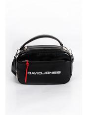 Сумка кросс-боди David Jones 5085Т черного цвета