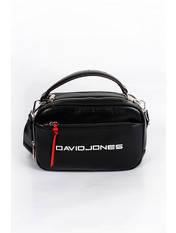 Сумка кросс-боди David Jones 5085Т черного цвета, фото 2