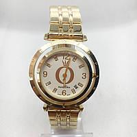 Часы женские наручные Pandora (Пандора), цвет золото с белым циферблатом ( код: IBW393YO ), фото 1