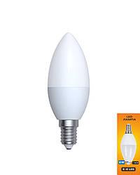 LED лампа свеча EGE LED 8W Е14