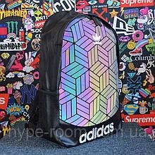 Рюкзак в стиле Adidas reflective, портфель Адидас рефлектив