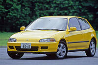 Ветровики, дефлекторы, защита окон для Honda Civic 3d 09/1991-1995 htb \ Хонда Цивик 3-х дверная (17101 / 027)
