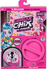 Ігровий набір від Moose.Сюрприз -Capsule Chix Sweet Circuits з лялькою рожева