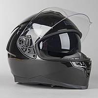 Мото Шлем интеграл IXS 1100 1.0 Full Face Helmet Black  Черный глянец, фото 1