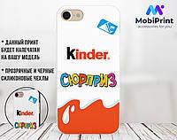 Силиконовый чехол для Apple Iphone 8 plus Kinder Surprise (4023-1637)