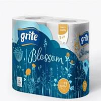 Туалетная бумага Grite Blossom 4 шт