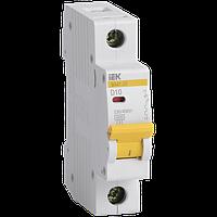 Автоматический выключатель IEK ВА47-29 1п D 10А