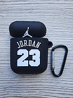 Чехол для Airpods Джордан 23 Jordan 23 черный