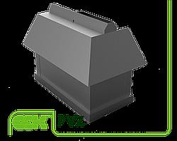 Элемент вентиляции крышный прямоугольный PVZ-800 ZS