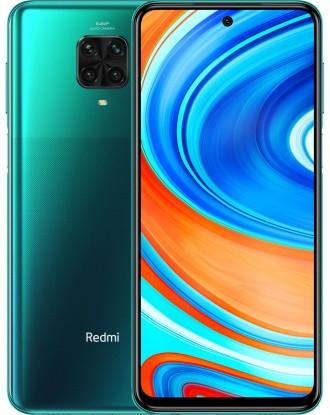 "Смартфон Xiaomi Redmi Note 9 Pro 6/128GB Global Green, 64+8+5+2/16Мп, Snapdragon 720G, 2sim, 6.67"" IPS"