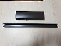 Доводчик дверной GEZE TS 3000 с скользящей шиной коричневый оригинал Германия