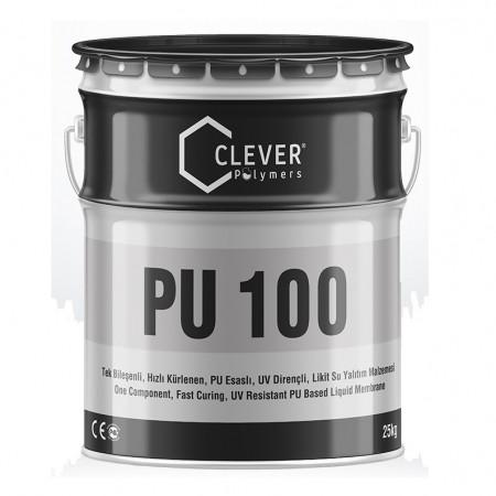 Clever PU Base 100 быстросохнущая ПУ гидроизоляция 1комп (5кг)