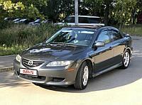 Ветровики, дефлекторы, защита окон для автомобиля Mazda 6 4d 02r ltb \ Мазда 6 лифтбек (23120 / 096)