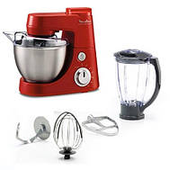 Кухонная машина Masterchef Gourmet Rouge 900w, блендер 1.5 литра, чаша 4 литра