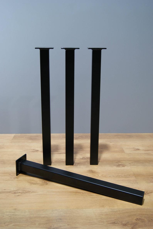 """Черные опоры из металла """"Кая"""" ножки для столика в ресторан кафе бар"""