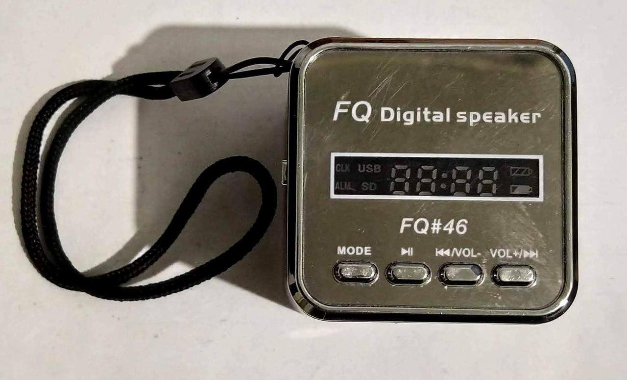 """Портативна колонка, радіоприймач (USB/SD/FM) """"FQ-46"""""""