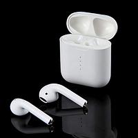 Беспроводные сенсорные Bluetooth наушники в кейсе с поддержкой Беспроводной зарядки TWS i100 5,0 Белые