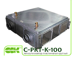Канальный теплоутилизатор C-PKT-K-100