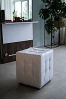 Пуф для клиента, визажный пуф для гримерного стола М801