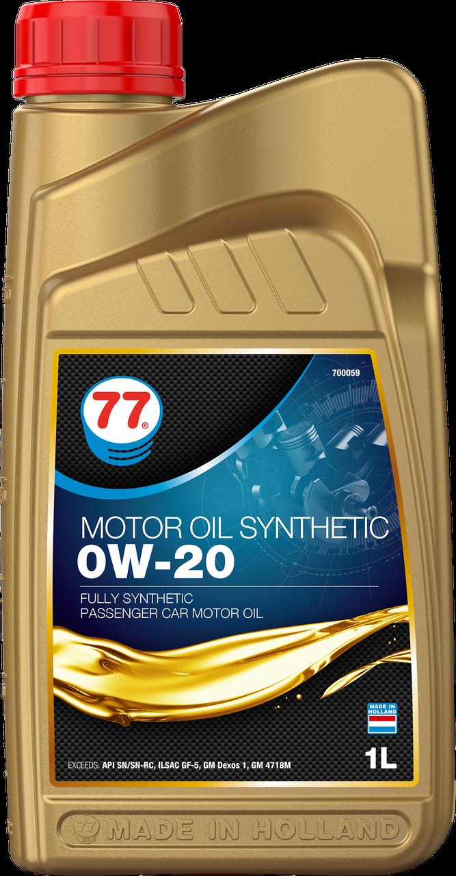 77 MOTOR OIL SN 0W-20 (кан. 1л)