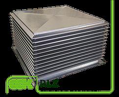 Крышный элемент вентиляции прямоугольный RLZ