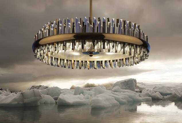 Хрустальный светильник Гармония, фото 2