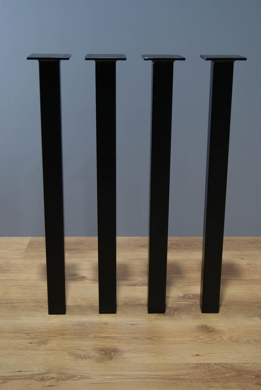 """Черные ножки из металла """"Кая"""" опоры для столика в ресторан кафе бар"""