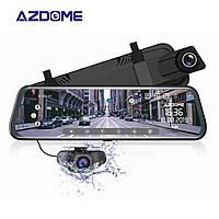 Автомобильный потоковый видеорегистратор- зеркало Azdome AR08 с камерой заднего вида и GPS