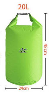 Водонепроникна сумка ВТВ Feelnature outdoors 20л. Green